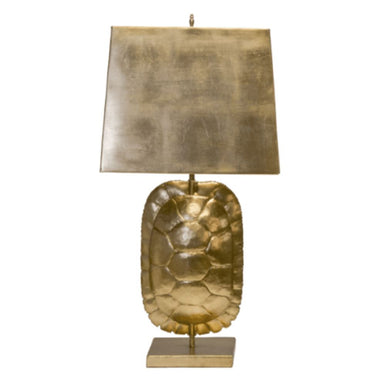 Cecile Gold Tortoise Table Lamp - Worlds Away Lighting at Fig Linens