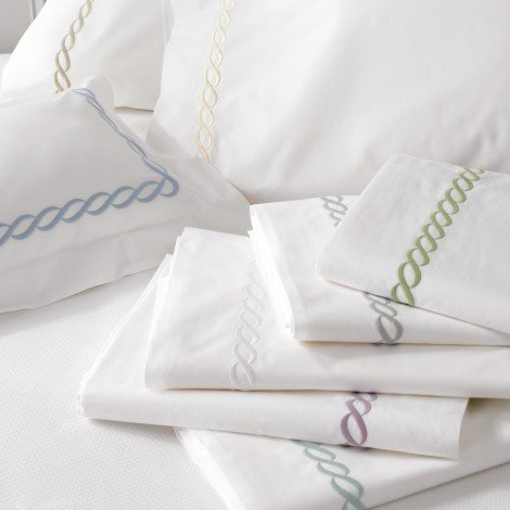 Classic Chain Bedding by Matouk - Fig Linens and Home