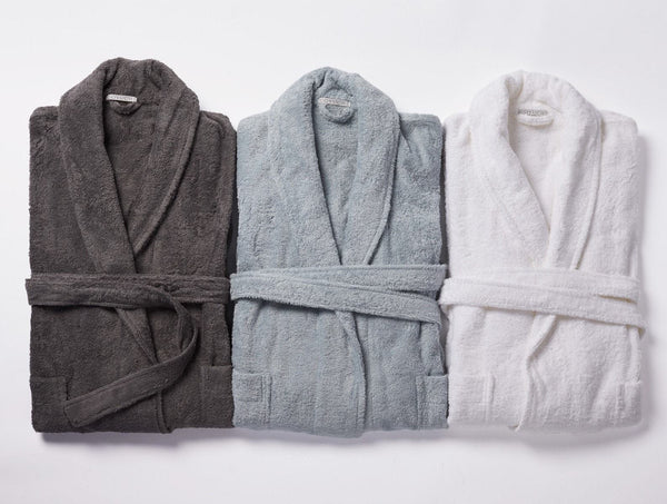 Coyuchi Organic Robes - Cloud Loom Organic Unisex Robes | Fig Linens