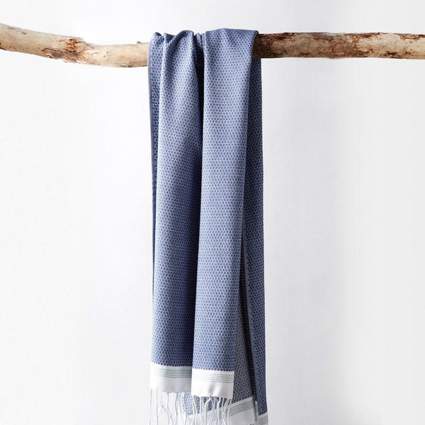 Mediterranean Lake Organic Bath Towels by Coyuchi | Fig Linens