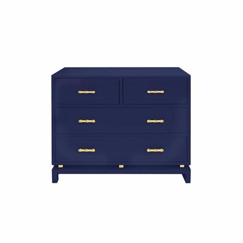 Declan Navy Chest - Fig Linens