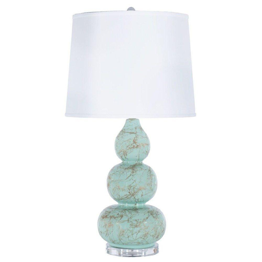 Delaney Mint Lamp - Worlds Away - Fig Linens and Home