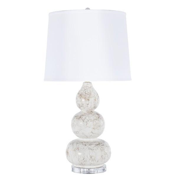 Delaney Lamp White