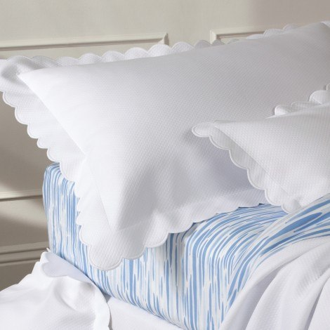 Diamond Pique Duvets by Matouk - Fig Linens and Home