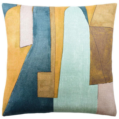 District Tobacco Pillow | Ryan Studio Contemporary Pillow at Fig Linens