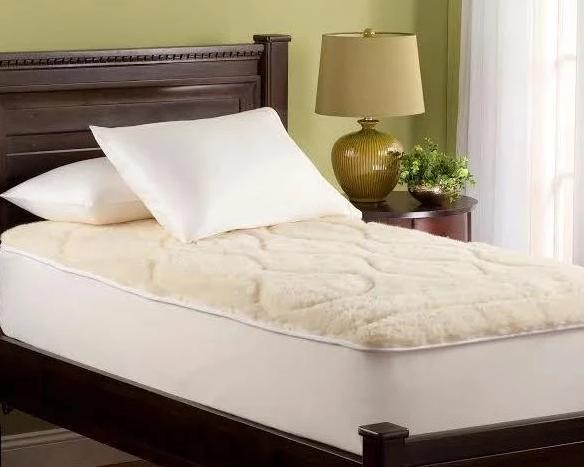 Luxury Merino Wool Mattress Pad by Downright | Fig Linens
