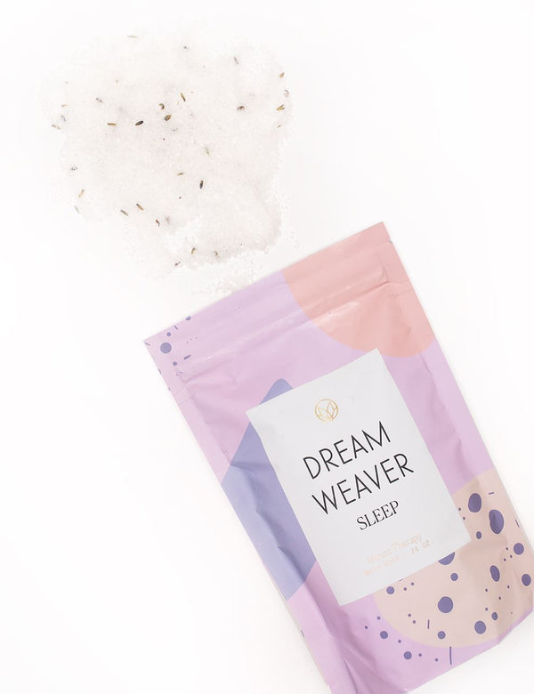 Dreamweaver Lavender & Lime Bath Soak by Musee | Fig Linens and Home
