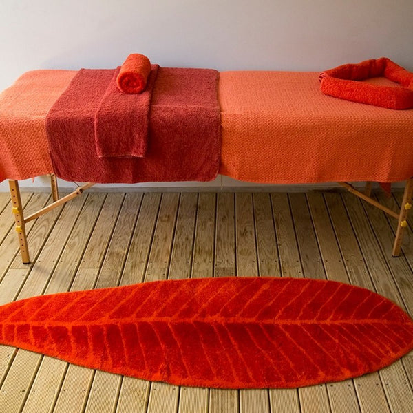 Feuille Rug by Abyss and Habidecor