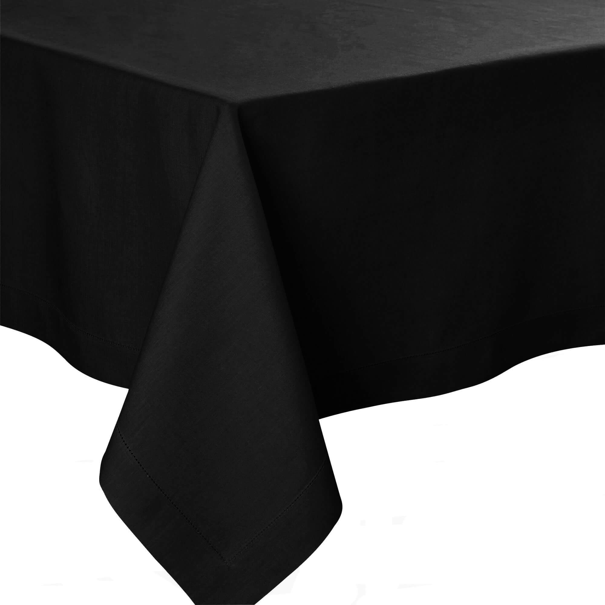Florence Black Table Linens by Alexandre Turpault