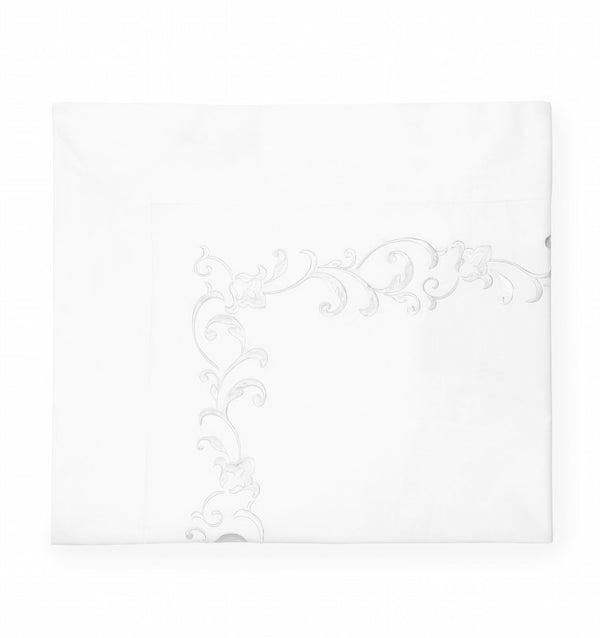 Griante White Duvet Cover by Sferra | Fig Fine Linens and Home
