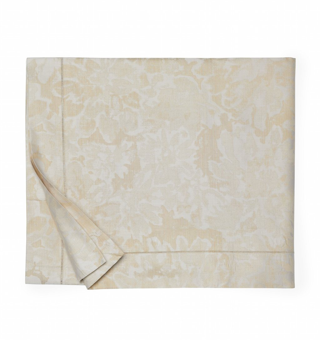 Fig Linens - Sferra Bedding - Petalo Gold Duvet