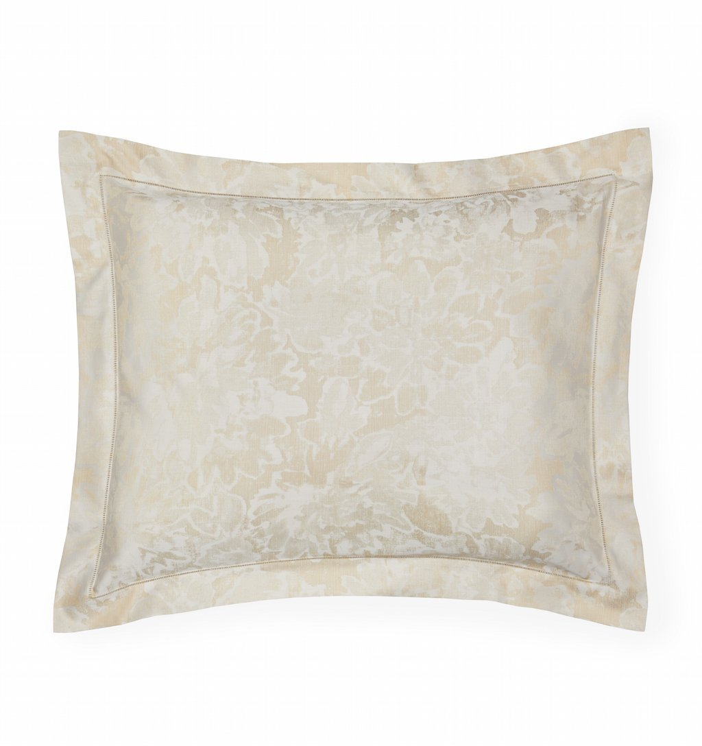 Fig Linens - Sferra Bedding - Petalo Gold Sham