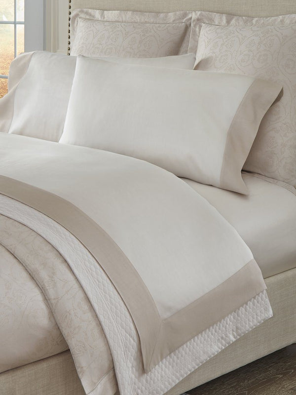 Larro Rose Sheets and Cases by Sferra | Fig Linens and Home