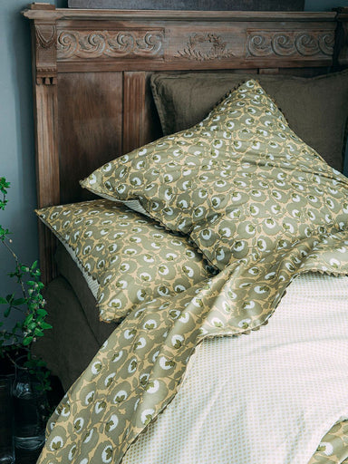 Fig Linens - Tresor Gold Bedding by Alexandre Turpault