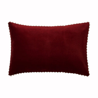 Velin Rust Pillow Cover by Alexandre Turpault | Fig Linens and Home