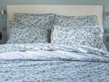 Fig Linens - Candide Baltic Blue Bedding by Alexandre Turpault