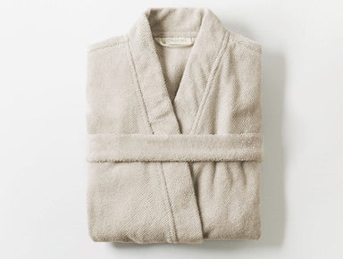 Air Weight Dune Unisex Organic Robe by Coyuchi | Fig Linens