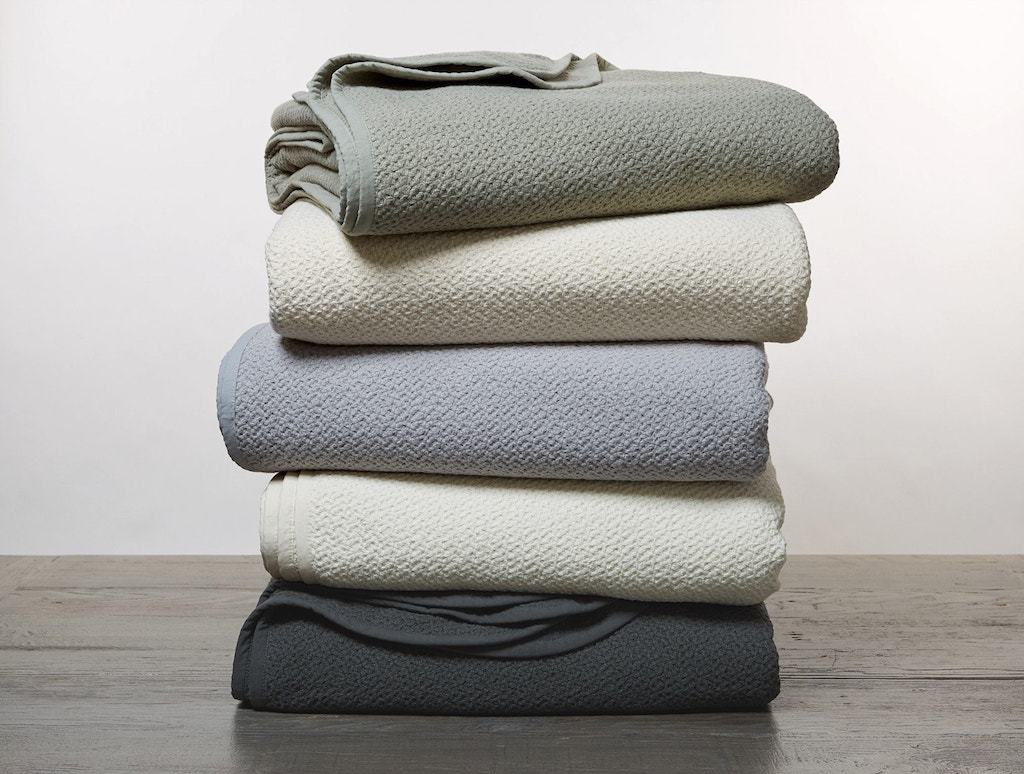 Honeycomb Organic Blankets by Coyuchi | Fig Linens