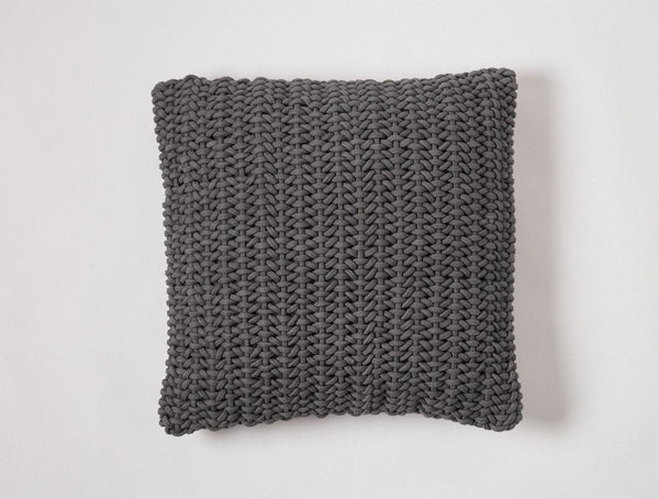 Shadow Woven Rope Decorative Pillow by Coyuchi | Fig Linens