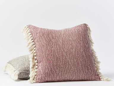 Abbott Rosehip Organic Pillow Cover by Coyuchi | Fig Linens