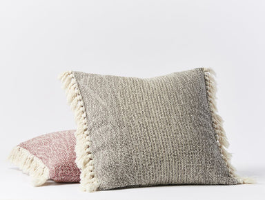 Abbott Walnut Organic Pillow Cover by Coyuchi | Fig Linens