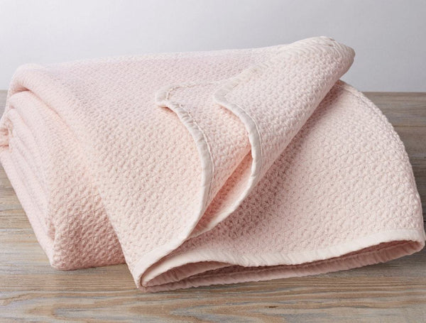 Camellia Honeycomb Organic Blanket by Coyuchi | Fig Linens