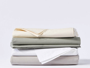 300 Thread Count Percale Sheet Set by Coyuchi - Fig Linens