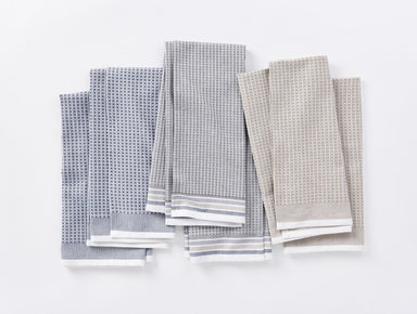 Shoreline Organic Waffle Kitchen Towels by Coyuchi | Fig Linens