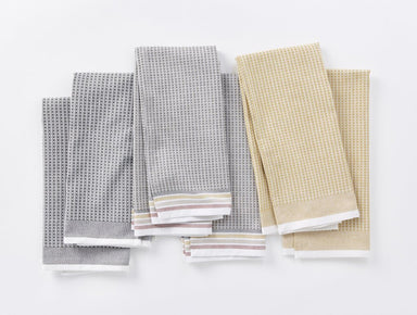Desert Organic Waffle Kitchen Towels by Coyuchi | Fig Linens