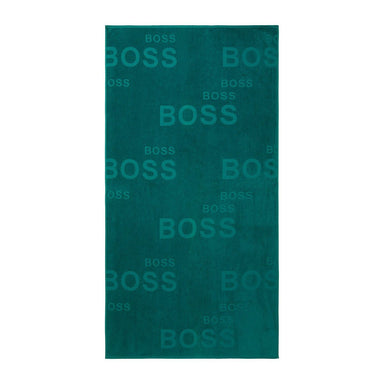 Fig Linens - Coast Teal Beach Towel by Hugo Boss