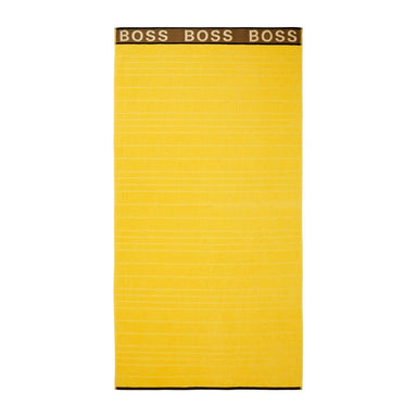 Sun Striped Logo Beach Towel by Hugo Boss | Fig Linens and Home