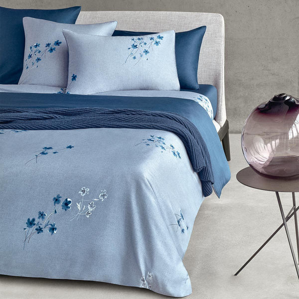 Linen Flowers Bedding by Hugo Boss | Fig Linens and Home
