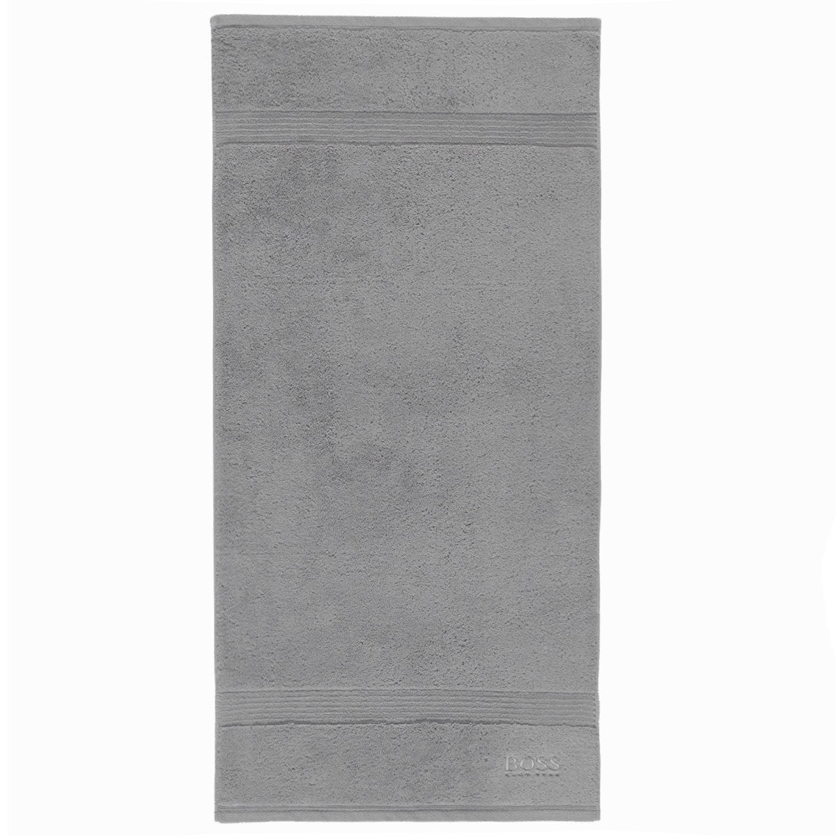 Loft Light Grey Bath Towels by Hugo Boss | Fig Linens and Home