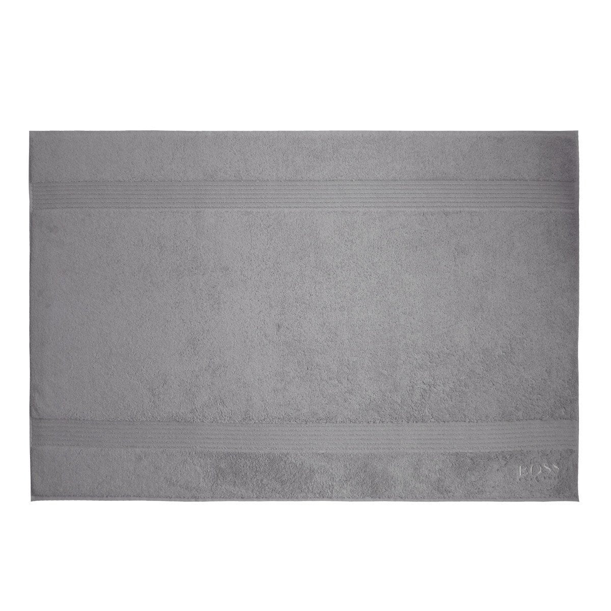 Loft Silver Bath Mat by Hugo Boss | Fig Linens and Home