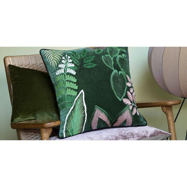 Fig Linens - Iosis Decorative Pillows - Bayou Vert Pillow