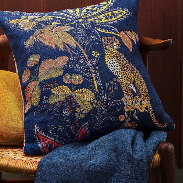 Indienne Nuit Decorative Pillow by Iosis | Fig Linens and Home