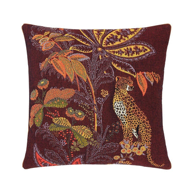 Indienne Grenat Decorative Pillow by Iosis | Fig Linens and Home