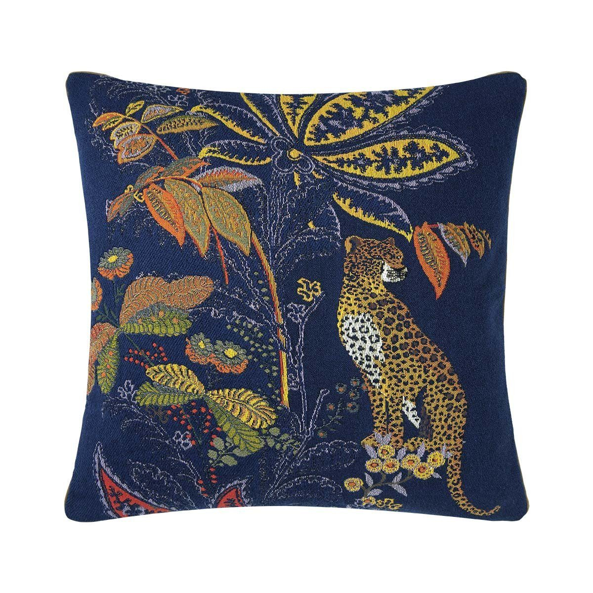 Indienne Nuit Decorative Pillow by Iosis