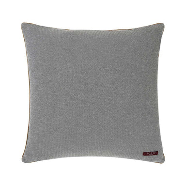 Fig Linens - Indienne Grenat Decorative Pillow by Iosis - Back