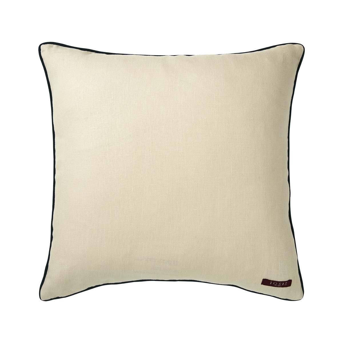 Fig Linens - Liesse Jade Decorative Pillow by Iosis  - Back