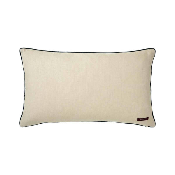 Fig Linens - Liesse Amarante Lumbar Pillow by Iosis - Back