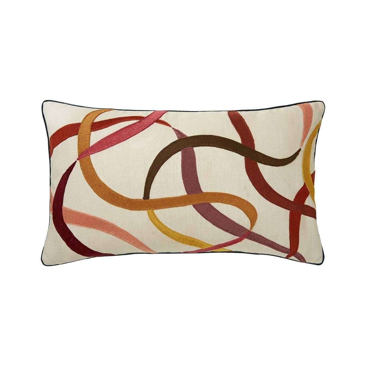 Liesse Amarante Lumbar Pillow by Iosis