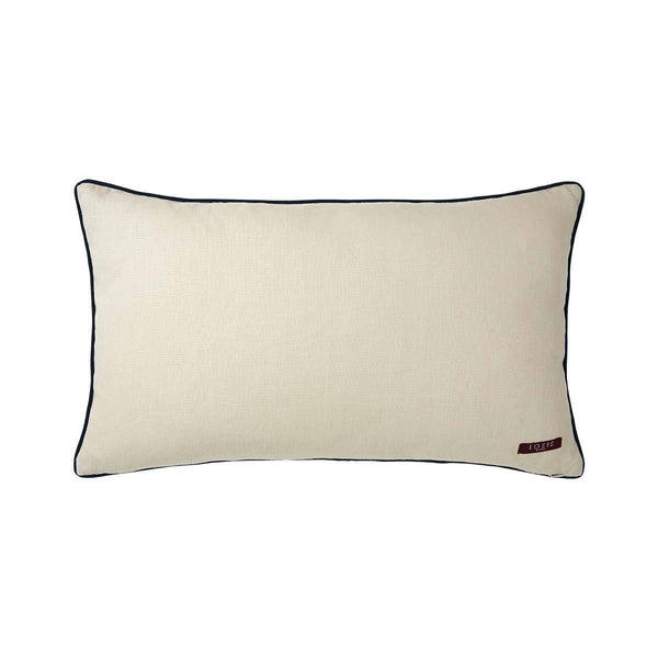 Fig Linens - Liesse Jade Lumbar Pillow by Iosis - Back