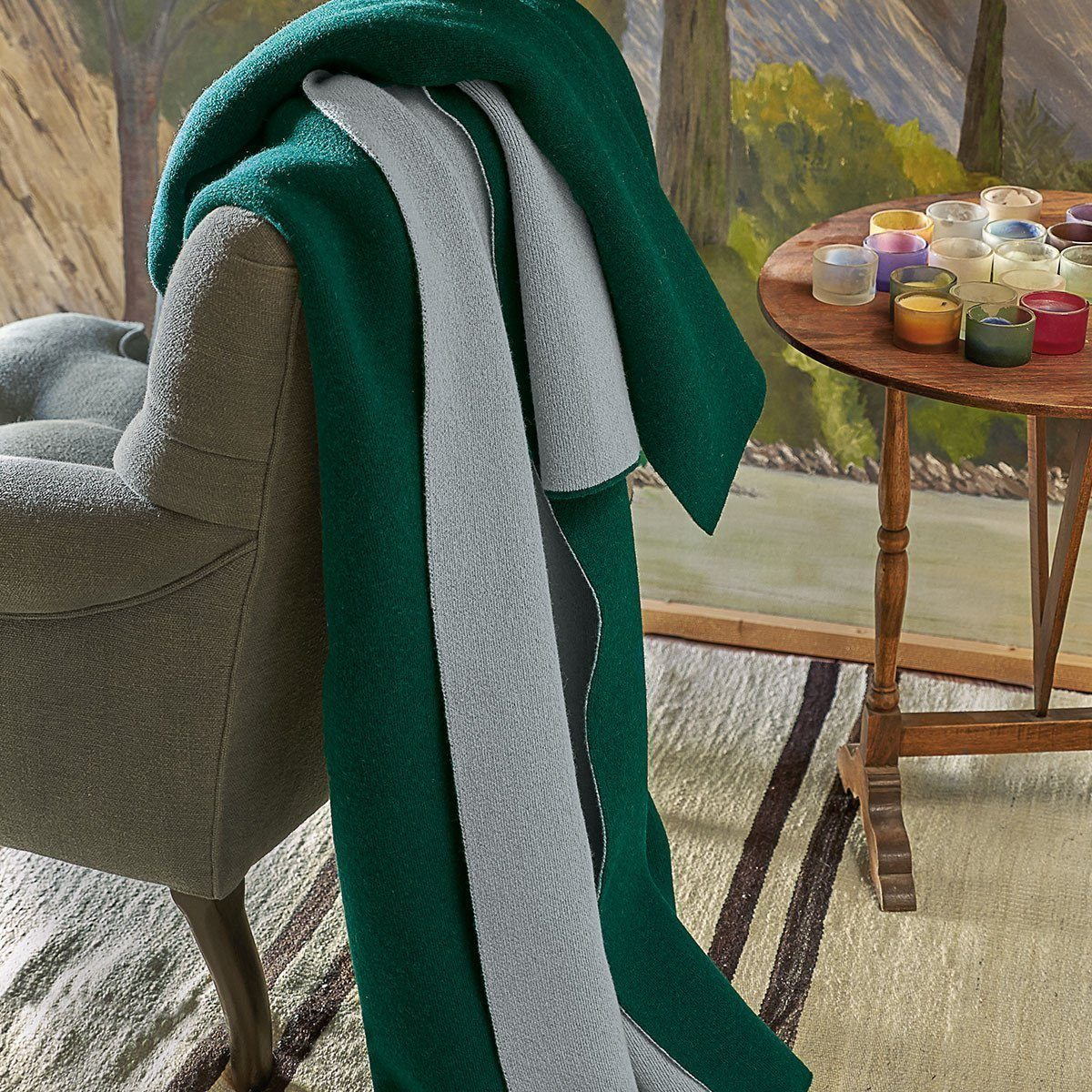 Verso Alpin Throw by Iosis | Fig Linens