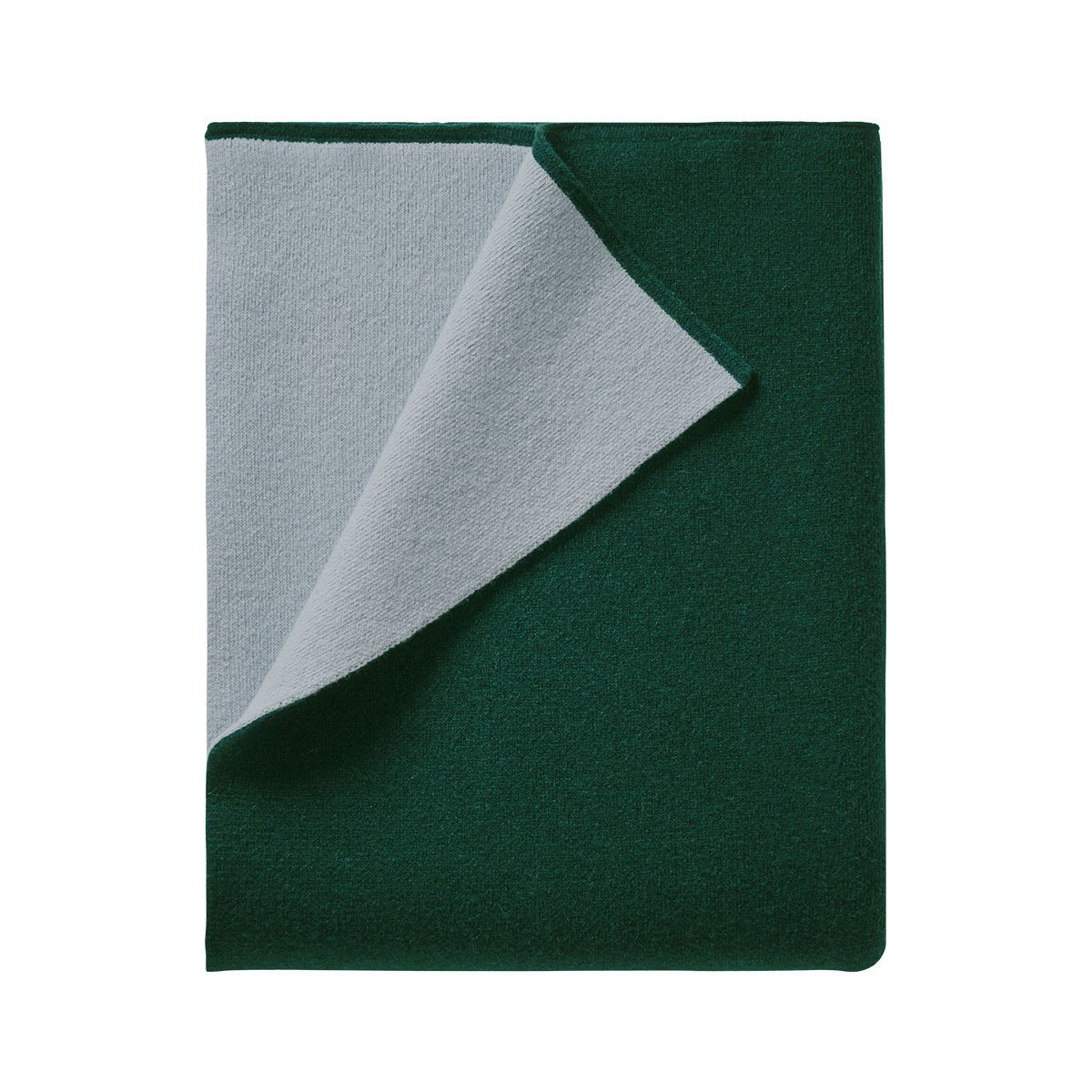 Verso Alpin Green Throw by Iosis | Fig Linens