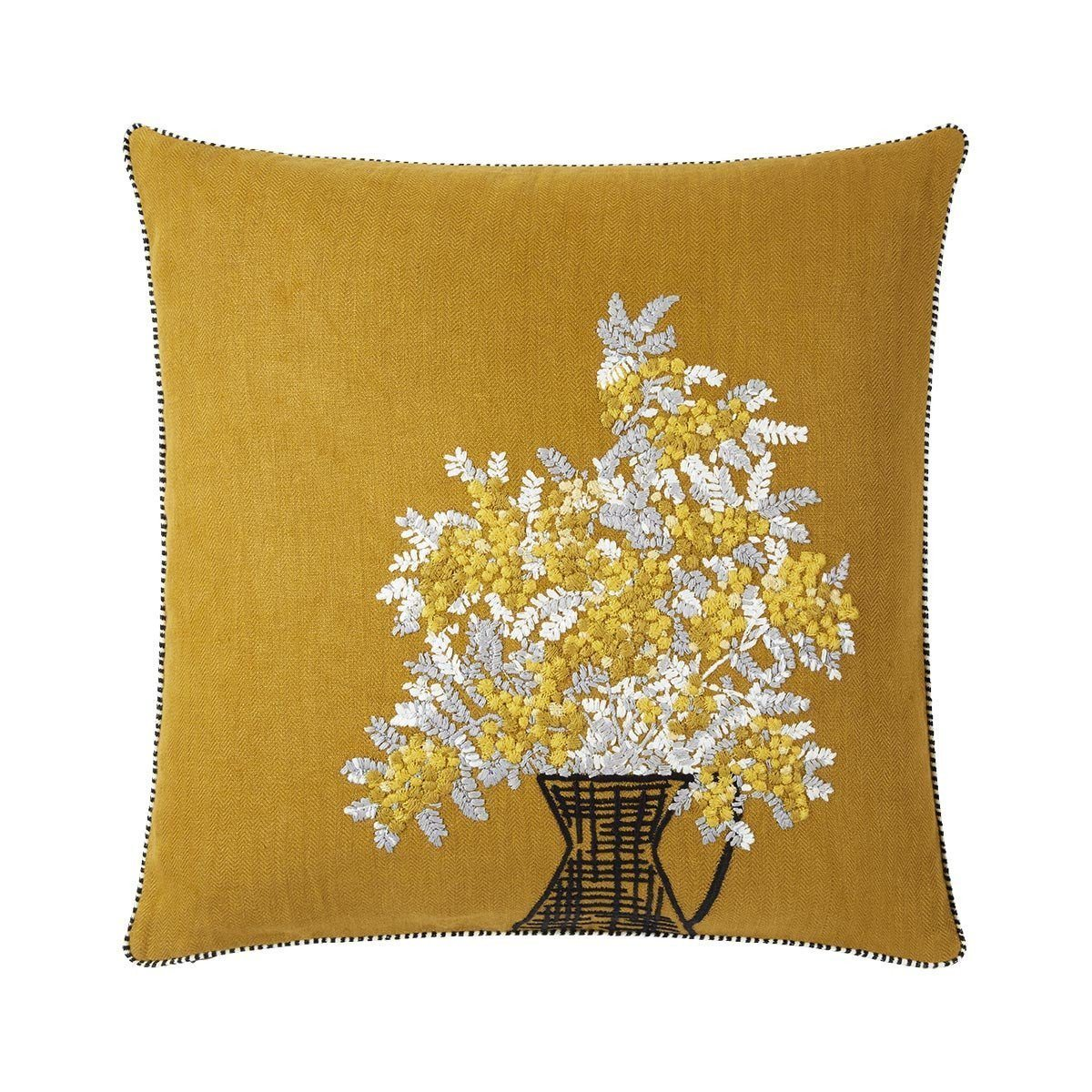 Mimosa Ocre Decorative Pillow by Iosis