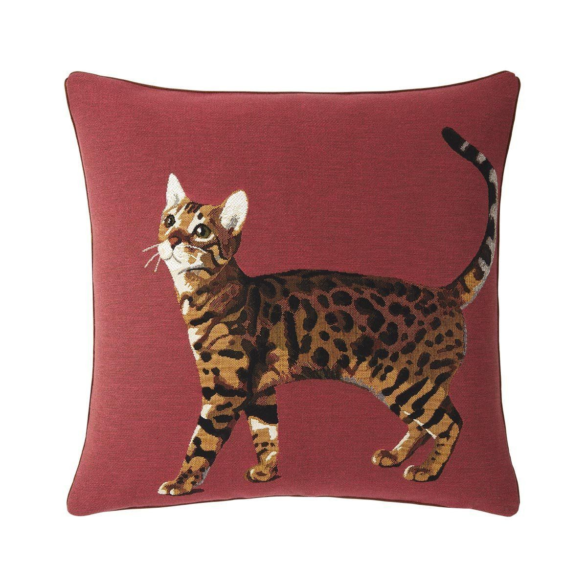 Bengal Corail Decorative Pillow by Iosis