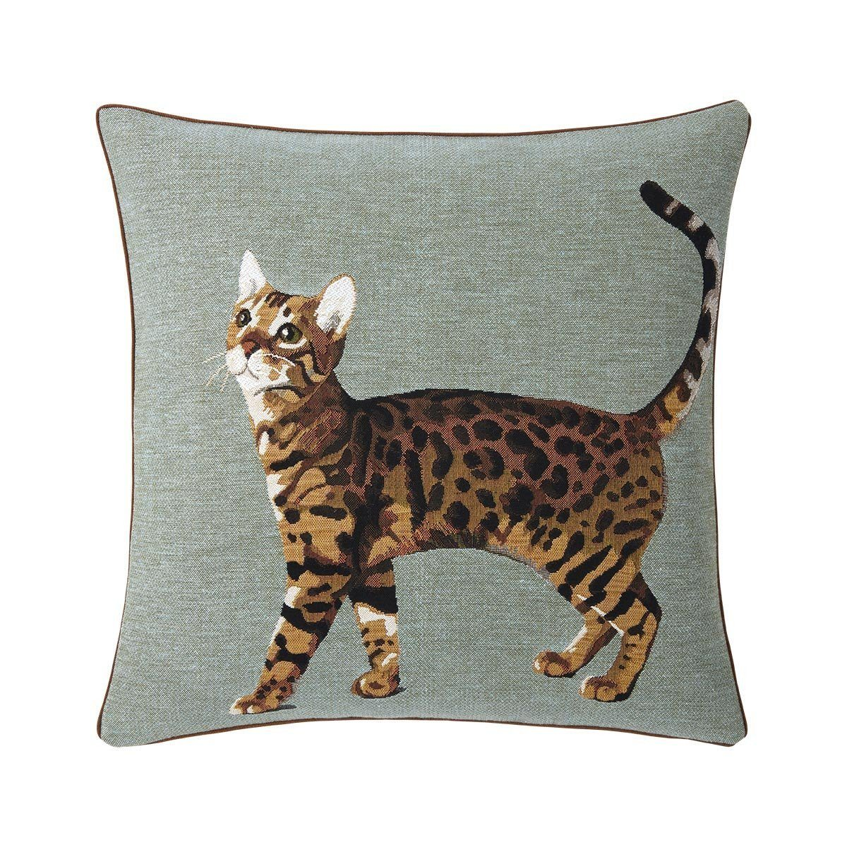 Bengal Mousse Decorative Pillow by Iosis