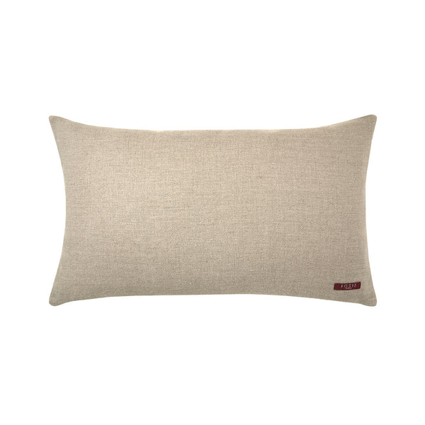 Fig Linens - Iosis Decorative Pillow - Berlingot Amadou Lumbar Pillow - Reverse