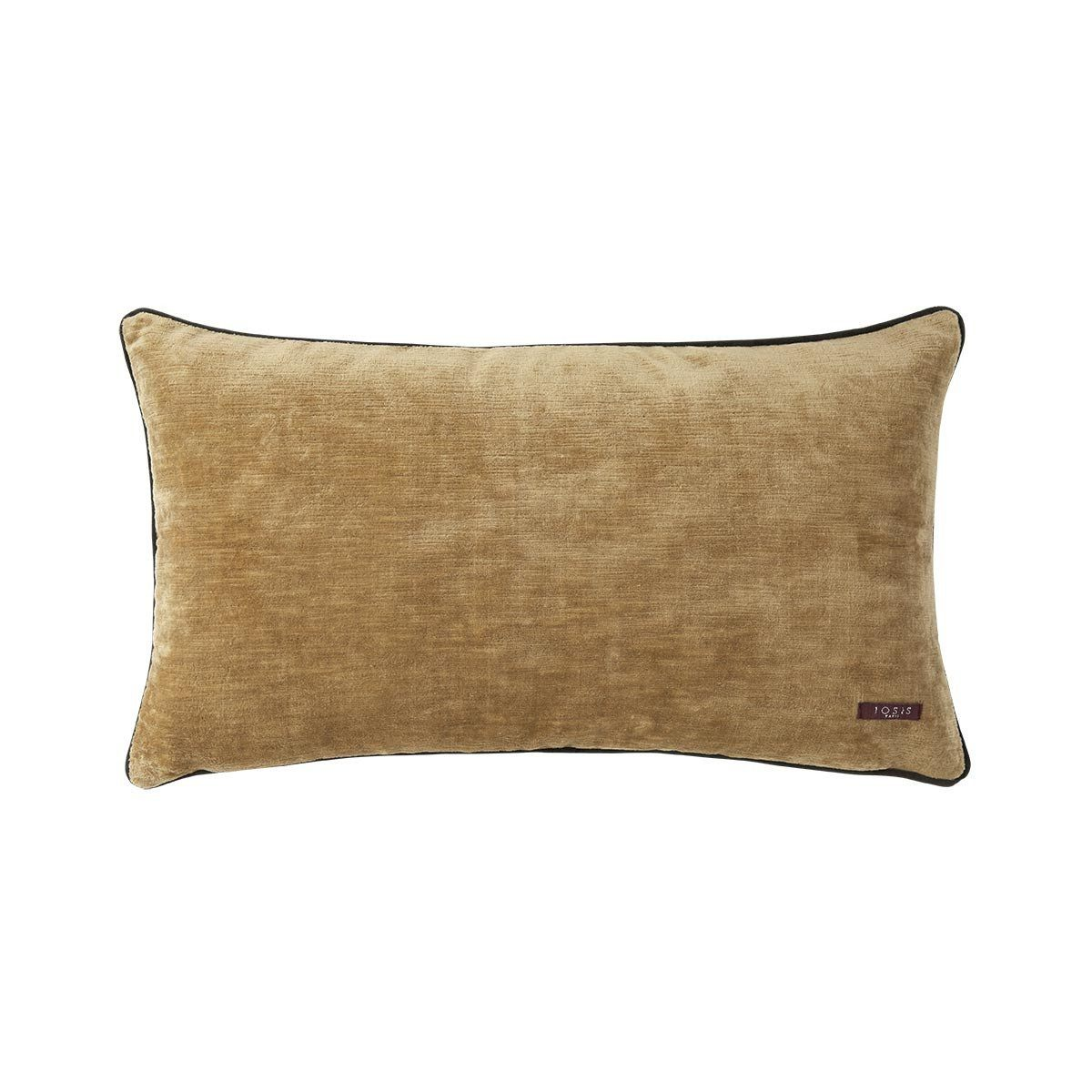 Fig Linens - Boromee Daim Lumbar Pillow by Iosis - Back